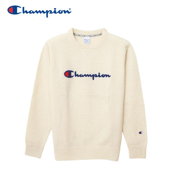 【クリアランスセール】チャンピオン ニット クルーネック ゴルフ C3-NSA01-020 メンズ 18FW
