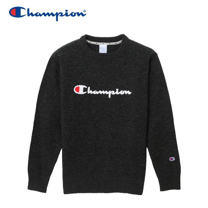 【クリアランスセール】チャンピオン ニット クルーネック ゴルフ C3-NSA01-080 メンズ 18FW
