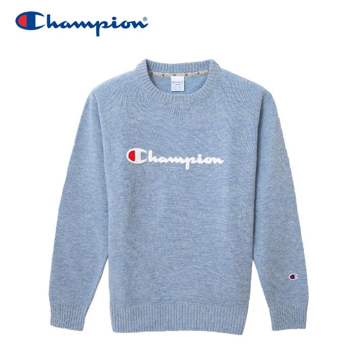 【クリアランスセール】チャンピオン ニット クルーネック ゴルフ C3-NSA01-320 メンズ 18FW