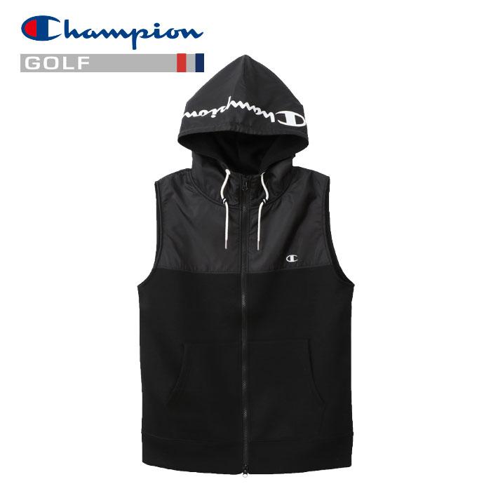 チャンピオン ベスト ジャケット Wrap-Air ゴルフ C3-PG102-090 メンズ 19SS