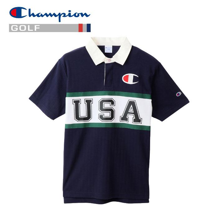 チャンピオン ポロシャツ ゴルフ C3-PG302-370 メンズ 19SS