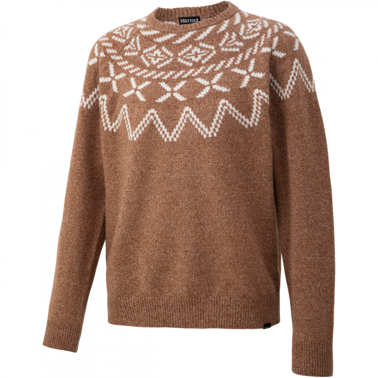 Crew マーモット ハイカーノルディッククルーセーター Nordic / Hiker アウトドア Sweater メンズ TOMQJL37-BG 【クリアランスセール】