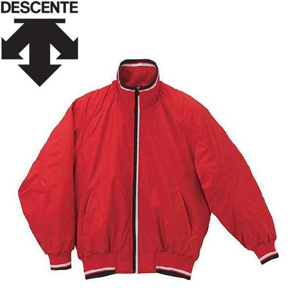 デサント 野球 エラスチック チタンサーモジャケット DR-216-RED