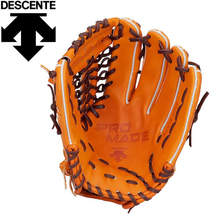 デサント 野球 硬式グラブ 外野手用 DBBLJG47-ORG
