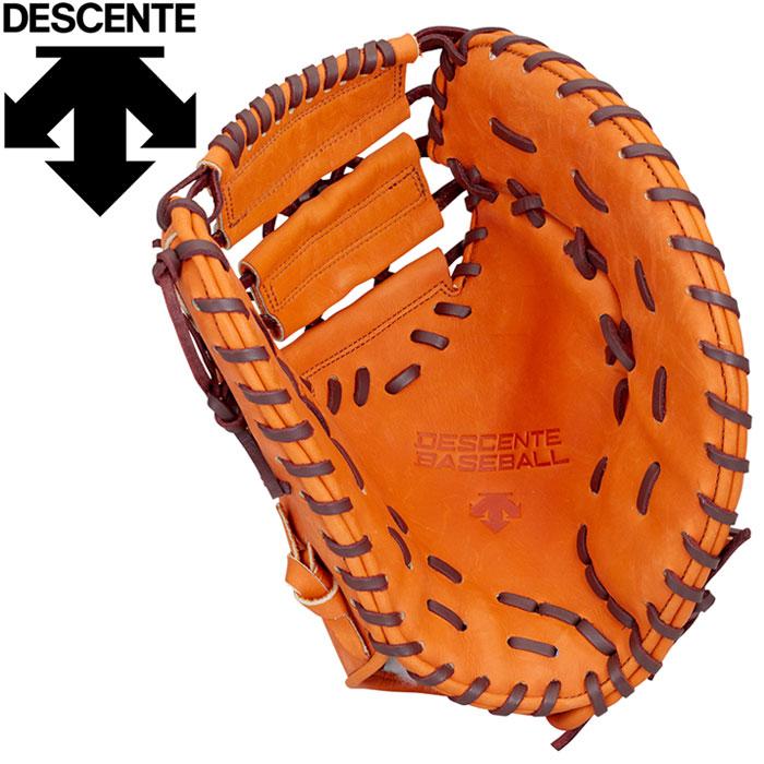 デサント 野球 軟式グラブ ファーストミット 一塁手用 DBBLJG53-ORG