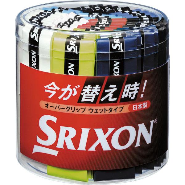 スリクソン テニス オーバーグリップ ウェットタイプ 40本入り STA2360BOX