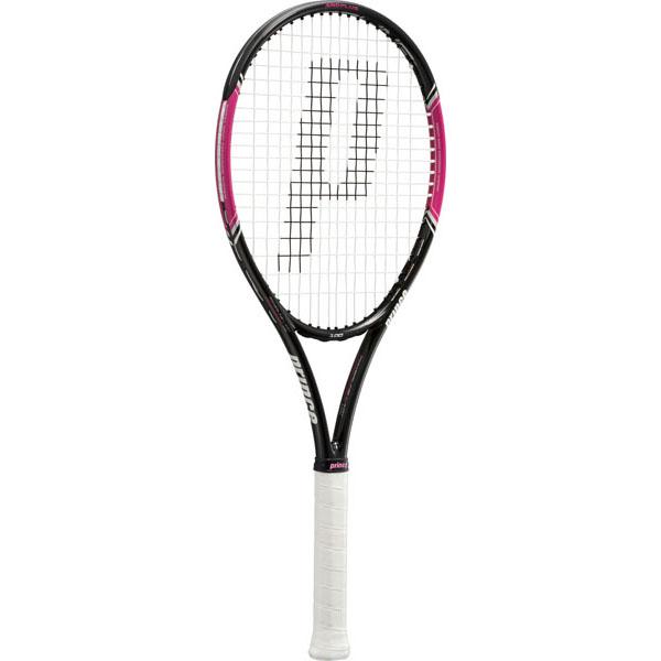 プリンス テニス 硬式テニスラケット (ガット張り上げ済み) レディース パワーライン レディ 100 7TJ034