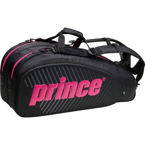 プリンス テニス バッグ ラケットバッグ6本入 TT702-420