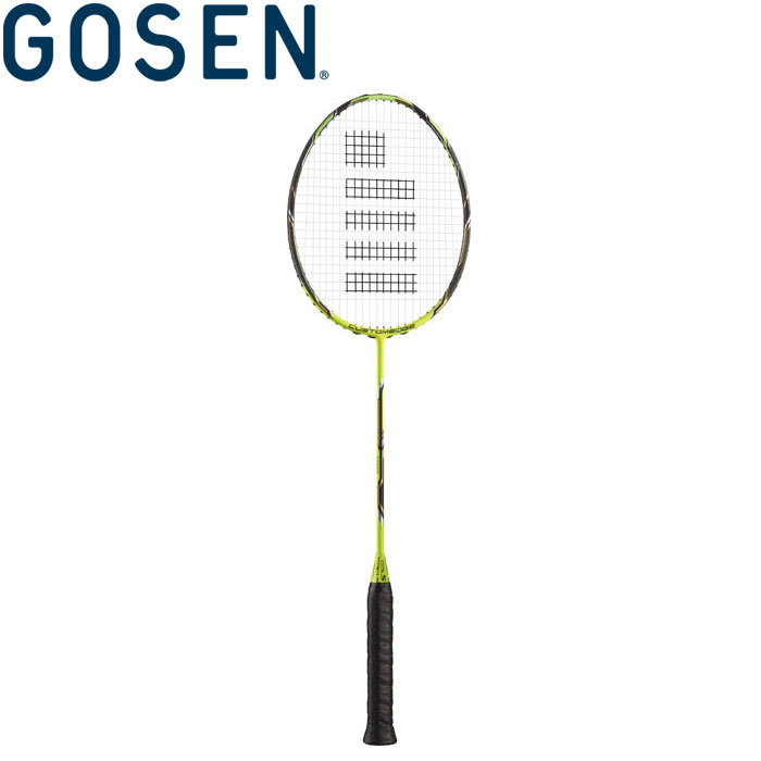 ゴーセン バドミントンラケット (フレームのみ) カスタムエッジ バージョン 2.0 タイプS BRCE2TS-FY