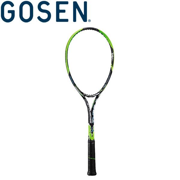 GOSEN(ゴーセン) 軟式テニスラケット (フレームのみ) カスタムエッジ タイプS SRCETS-BG