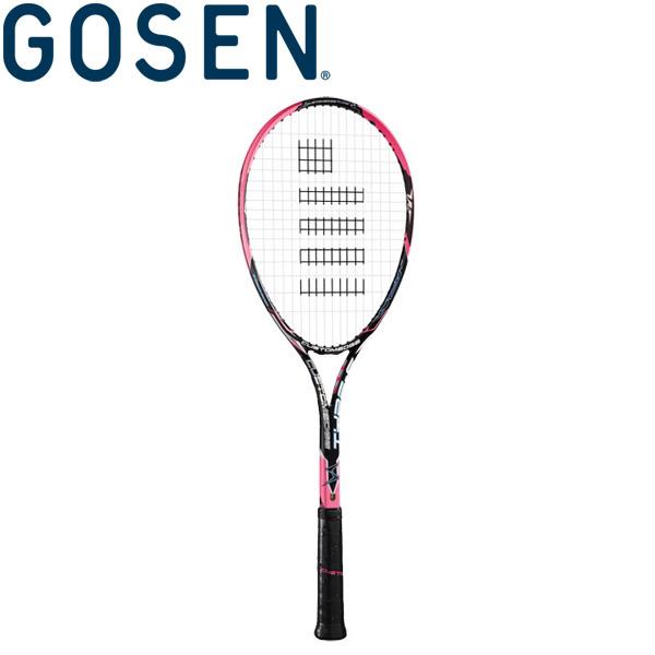 GOSEN(ゴーセン) 軟式テニスラケット (フレームのみ) カスタムエッジ タイプS SRCETS-SP