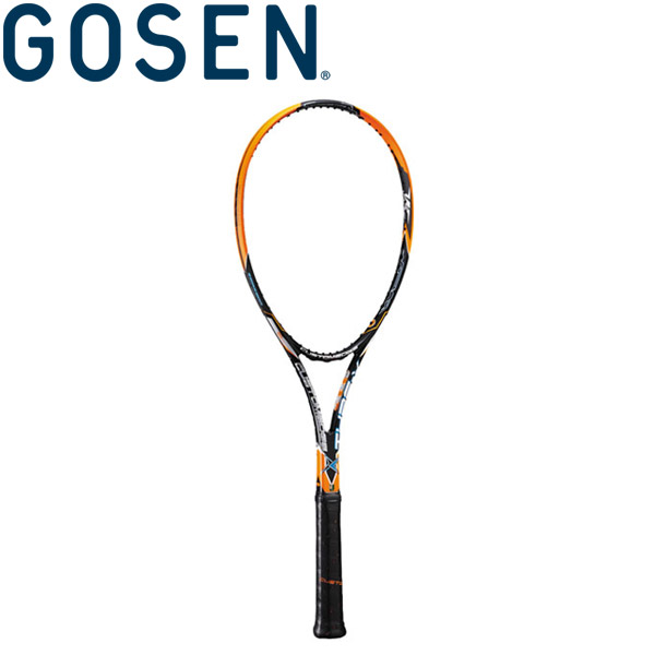 ゴーセン 軟式テニスラケット (フレームのみ) カスタムエッジ タイプX SRCETX-SO