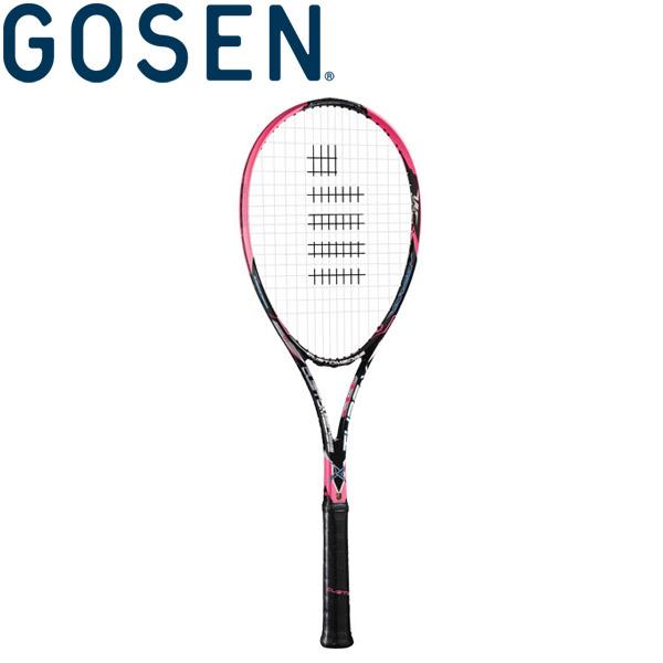 ゴーセン 軟式テニスラケット (フレームのみ) カスタムエッジ タイプX SRCETX-SP