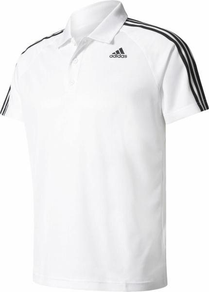 ○17 SS adidas(아디다스) D2M 트레이닝 3 스트라이프 폴로 셔츠 BVA63-BK2602 맨즈