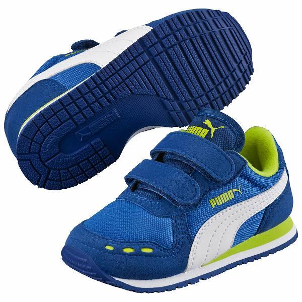 ○ 16SS PUMA (PUMA) Cabana racer mesh V kids 356373-17 infant shoes