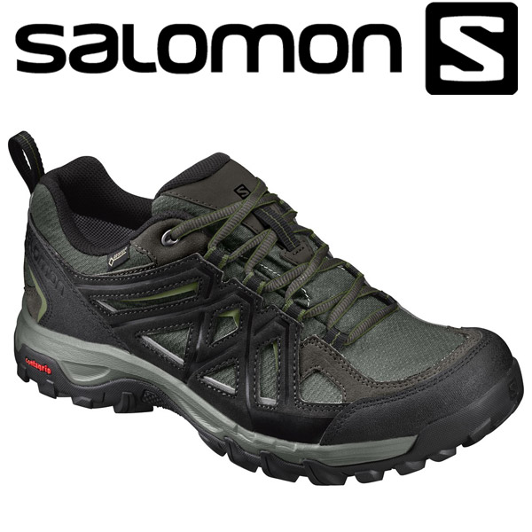 ◇Salomon outdoor hiking trekking shoes hiking shoes men EVASION 2 GTX L39358600 SALOMON