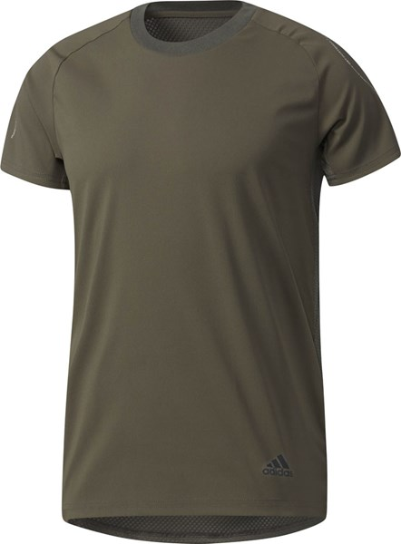 ☆adidas (Adidas) training suit short sleeves T-shirt men M4T training premium T-shirt DML02-BS0697