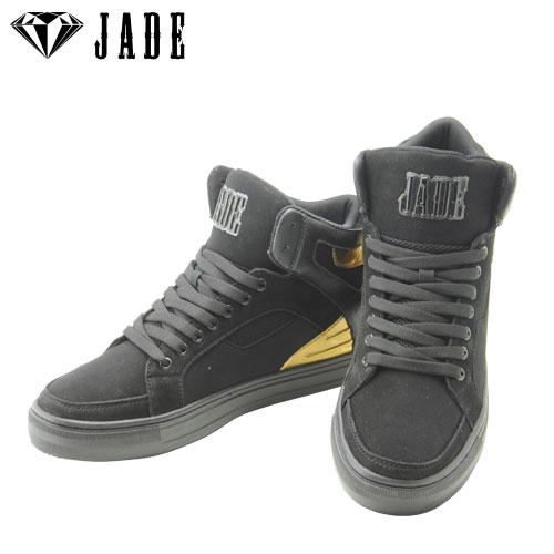 JADE(ジェイド) メンズダンススニーカー JD7003-BLA ブラック