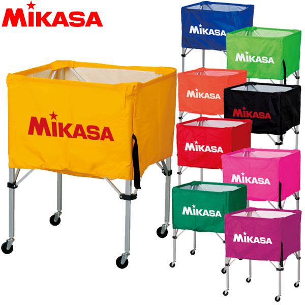 ミカサ ボールカゴ 箱型 BC-SP-S フレーム・幕体・キャリーケース 3点セット バレー サッカー バスケ ハンド MIKASA