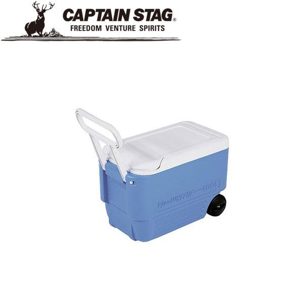 キャプテンスタッグ イグルー ホイールクール38QT ブルー M6974 クーラーボックス CAPTAIN STAG