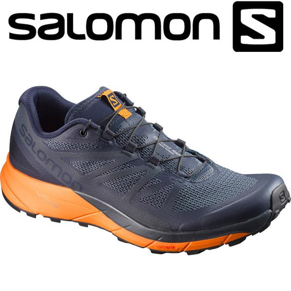 17FW SALOMON(サロモン) SENSE RIDE メンズ トレイル ランニングシューズ Salomon L39474300