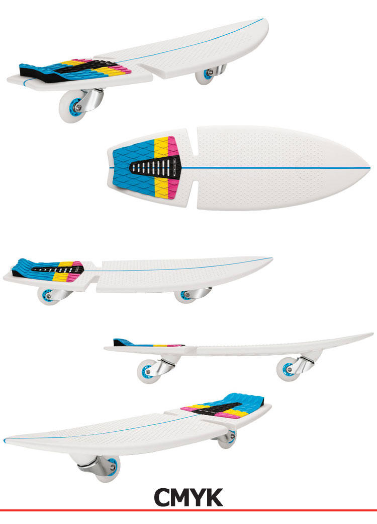 ★ from authentic US RAZOR companies import surf skateboard RIP surf board RipSurf Bord