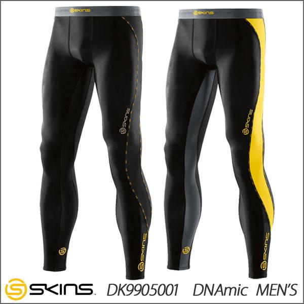 【メール便配送 代引不可】 SKINS(スキンズ) DNAmic メンズ ロングタイツ DK9905001