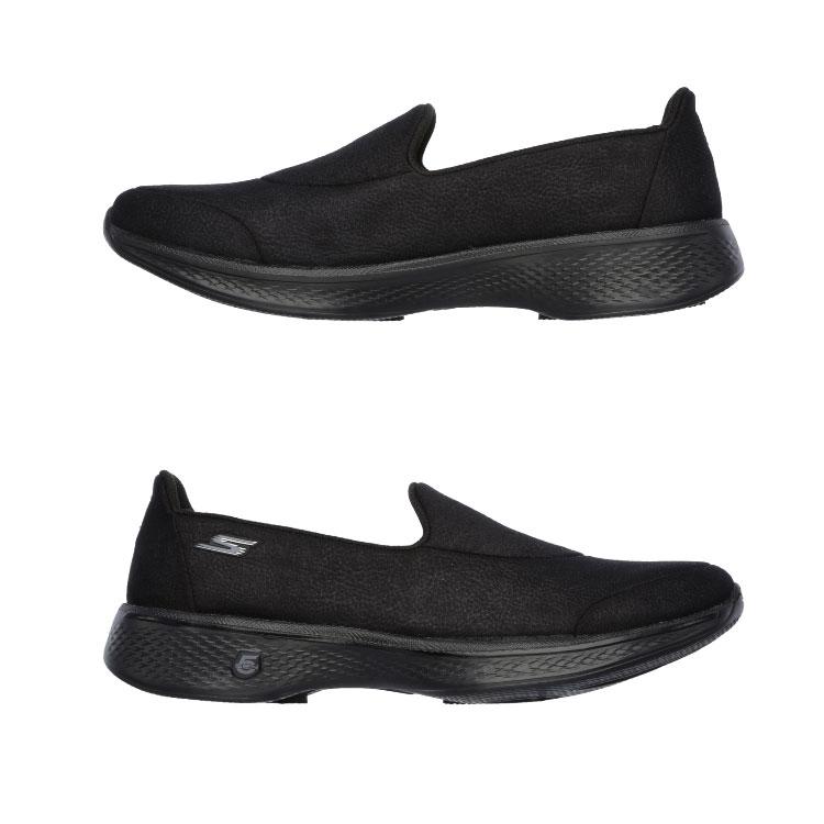 ○17SP SKECHERS (スケッチャーズ) slip-on shoes Lady's GO WALK 4 - INSPIRE 14166 BBK