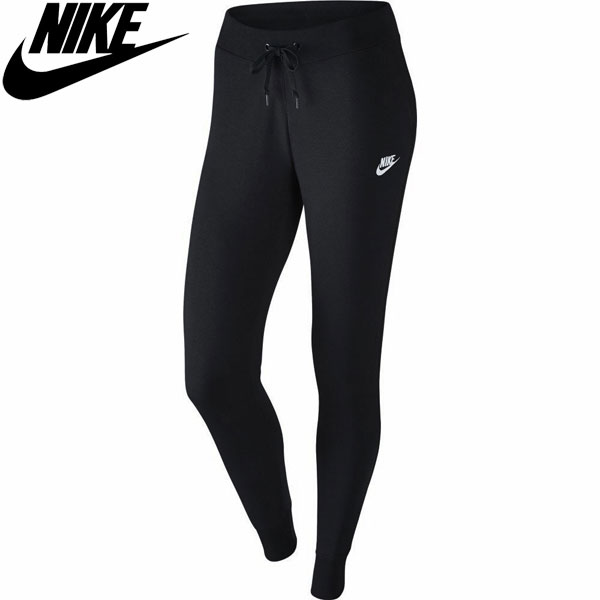 16FA NIKE (Nike) women s Club French Terry tight pants 807801-010 ladies   565cc09ee7