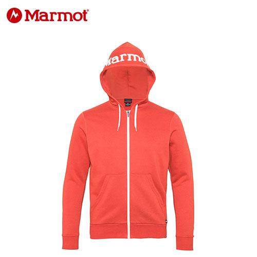 17FW Marmot Mens Logo Sweat Shirt Parka MJK F7068 FOX