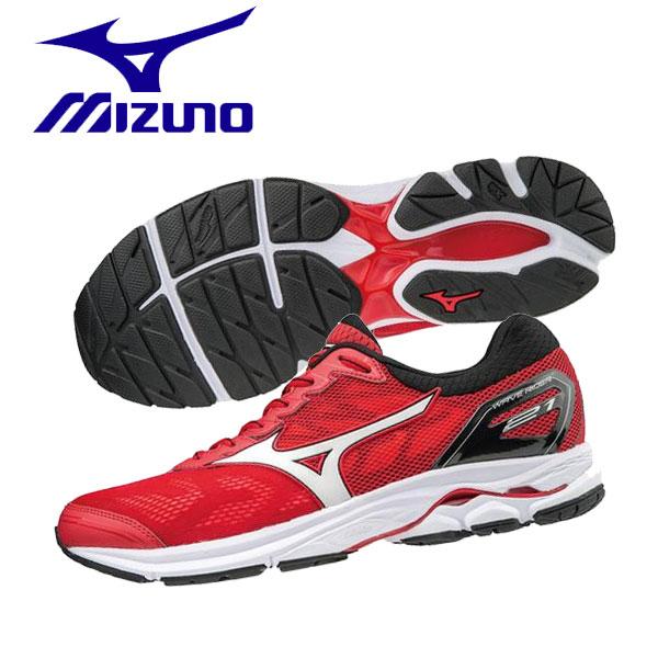 17FW mizuno(ミズノ) ランニングシューズ メンズ ウェーブライダー21 J1GC1803-01