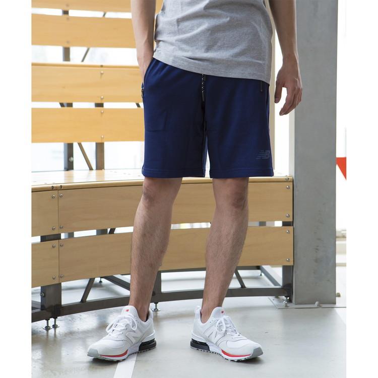 ea1f7d65 17FW New Balance training short pants men NB Athletics shorts AMS73531-PGM