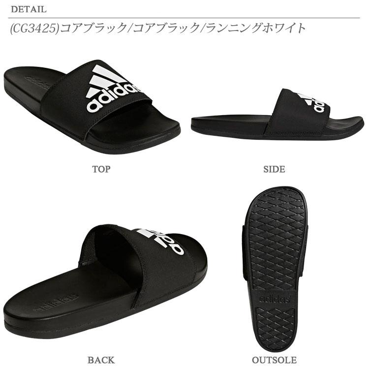 e2dd0820b2f0 annexsports  Adidas ADILETTE CF LOGO sandals men gap Dis 18SS CG3423 ...