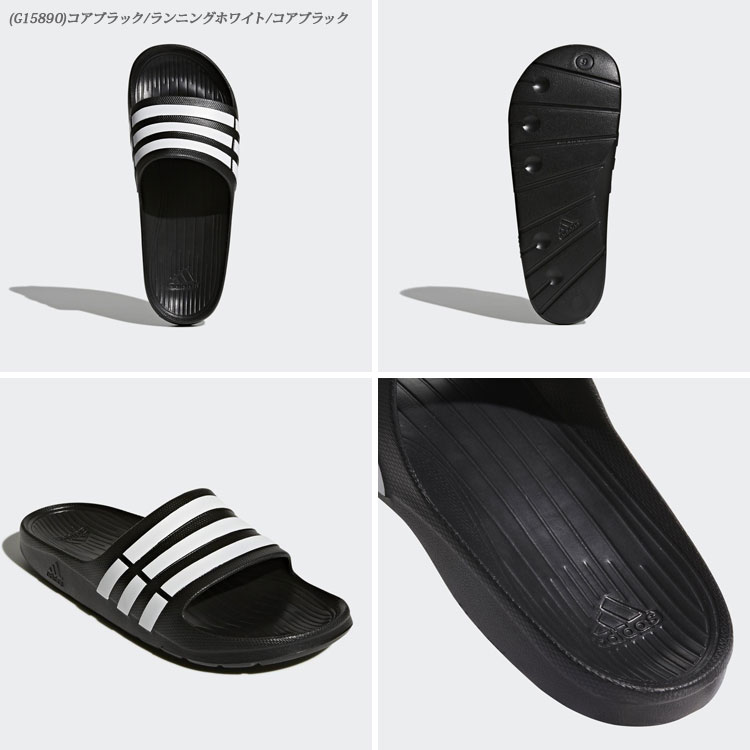 2b292fa0b The moment when I be superior to quick-drying even if basic shower sandals  DURAMO SLIDE  デュラモスライド  of Adidas gets wet by an EVA material of ...