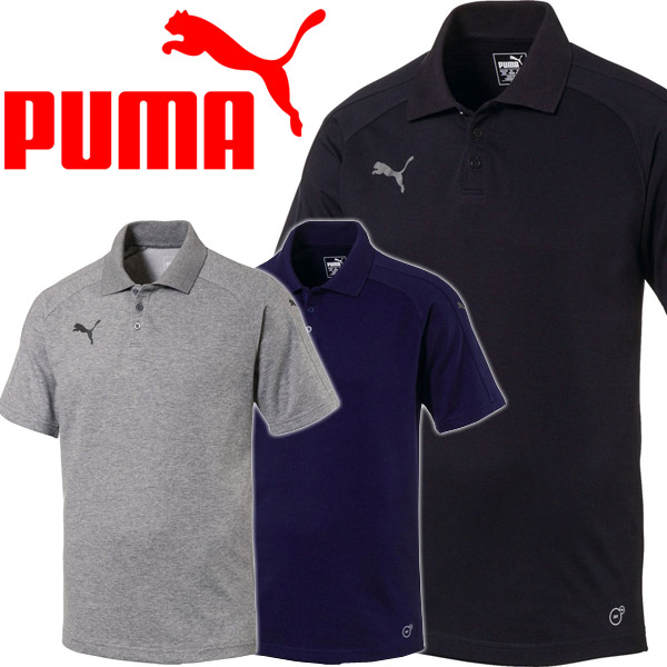 a6b806a6c962 annexsports  Puma short sleeves polo shirt men Ascension Casuals ...