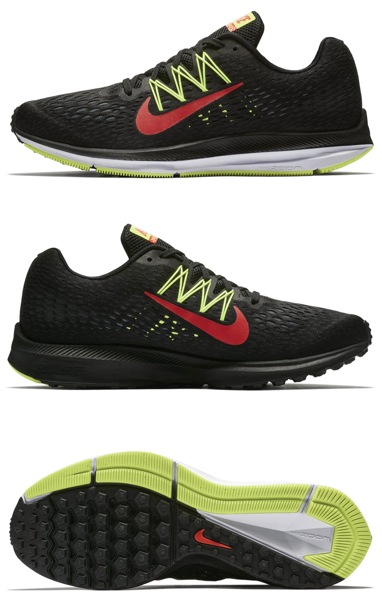design intemporel 86084 64af4 Nike zoom Win flow 5 AA7406-004 men shoes autumn of 2018 winter