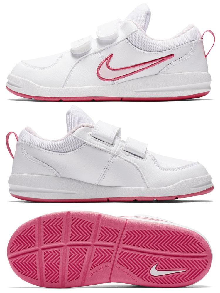 マルチアスレ   kids shoes. The girls Nike pico 4 PS pre-school shoes realize a  stable feeling of fitting and superior traction. 74ca00139f1