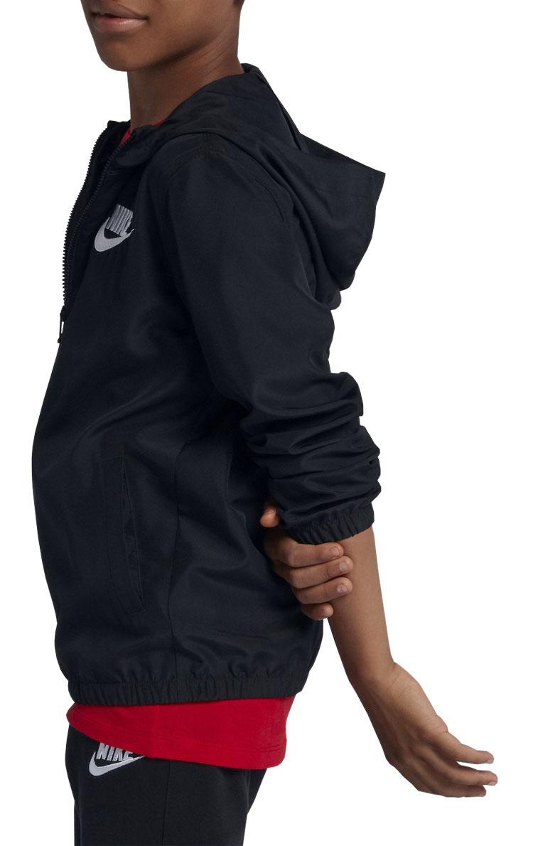 99dd0f727c71 annexsports  Nike YTH Woo the jacket AJ5847-010 youth autumn of 2018 ...