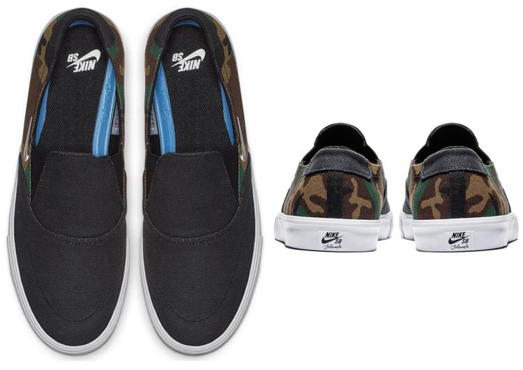 a28082a1c3c49 ... Nike SB port more 2 solar slip-ons canvas AH3364-004 men shoes spring