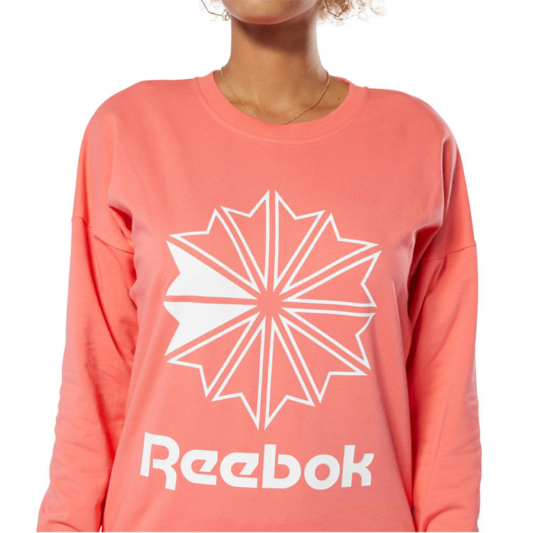Reebok classical music CLASSIC French Terry BIC logo crew DT7245 Lady's