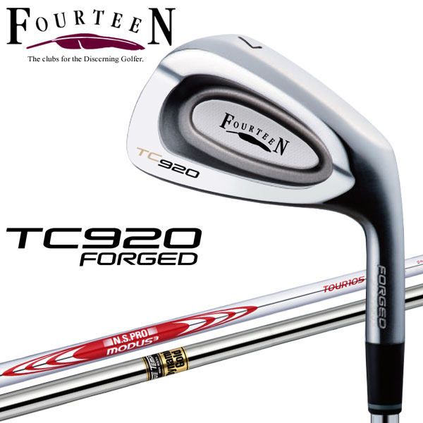 フォーティーン TC-920 FORGED アイアン 6本セット 2019年モデル 日本正規品