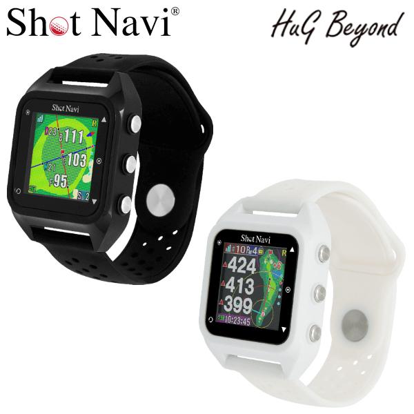 ショットナビ ゴルフ ハグ ビヨンド 腕時計型GPSナビ Shot Navi HuG Beyond