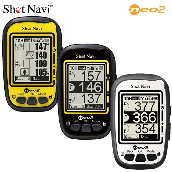 ショットナビ ネオ2 GPSゴルフナビ NEO2