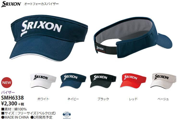 annexsports  -Srixon Golf men s autofocus visor SMH6338 SRIXON ... 517fe55c9ad