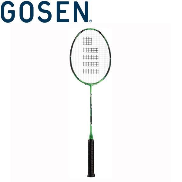 ゴーセン CUSTOMEDGE VER2.0 TYPE-V バドミントン用ラケット (フレームのみ) BRCE2TVBG