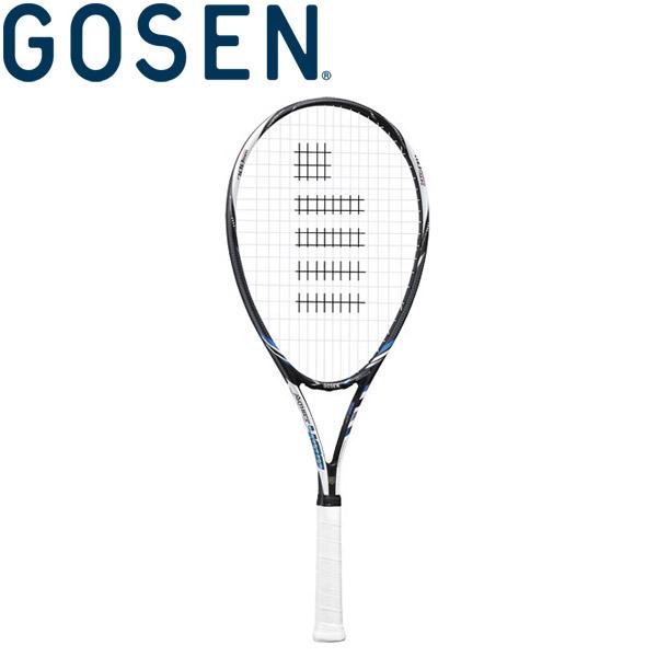 ゴーセン AXTHIES 400 ソフトテニスラケット (フレームのみ) ブルー SRA4BL
