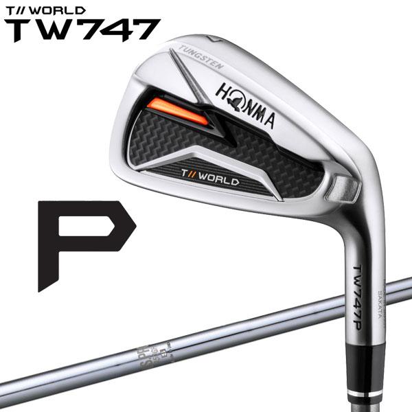 【11月16日発売予定 初回入荷分】 ホンマ ゴルフ TW747 P アイアン 6本セット N.S.PRO950GH スチール 2019モデル