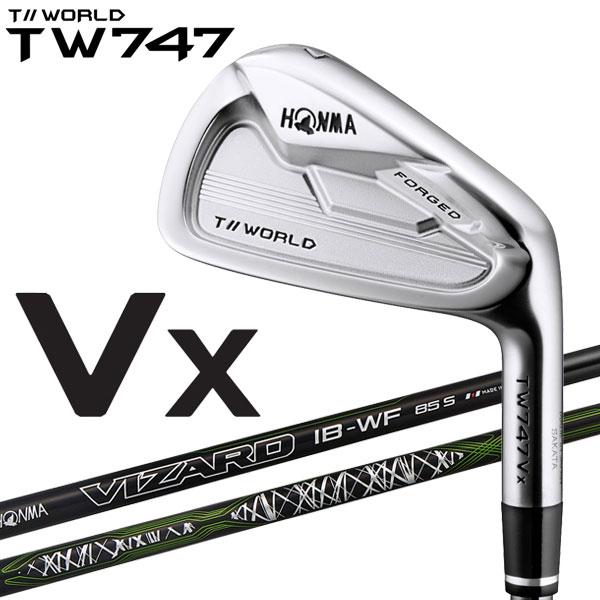 ホンマ ゴルフ TW747 Vx アイアン 単品 Vizard IB-85WF カーボン 2019モデル