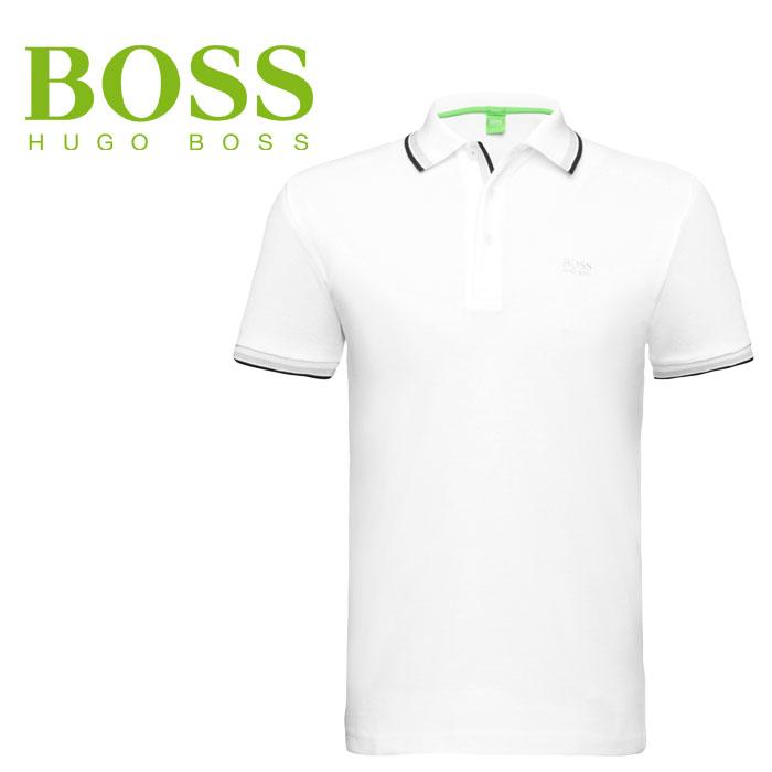 ヒューゴボス ポロシャツ USA HUGOBOSS Paddy 50198254-100 ボスグリーン