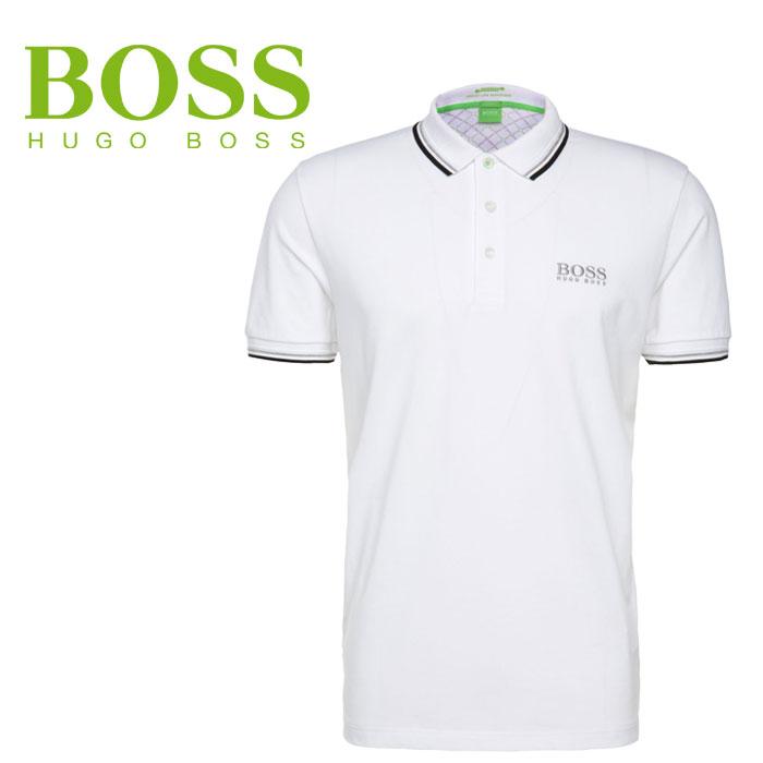 ヒューゴボス ポロシャツ USA HUGOBOSS Paddy Pro 50260312-100 ボスグリーン